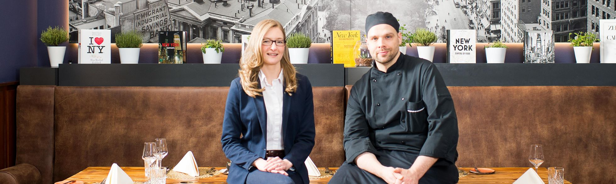 Restaurant Team, Johannes Hanspach, Stephanie Klüh